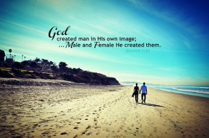 God created man and woman